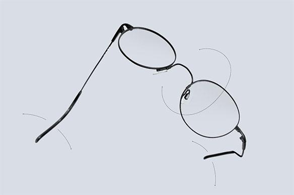 Ohebnost brýle